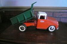 orange&white Cab/Green Dump Bed Tonka Dump Truck