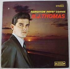 B.J. Thomas – Tomorrow Never Comes, Vinyl LP, VG vinyl, VG sleeve