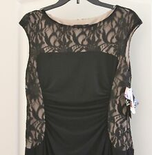 Ladies Evening wedding formal prom cocktail Mother of the Bride Dress Size 12
