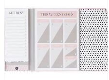 Zoella Stay On Top Of Your World Stationary Book Planner Notes Lifestyle Range