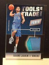 Tools of the trade Shoe SHANE LARKIN #3 RC Knicks 2014 2013/14 Panini National