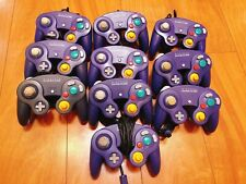 Nintendo Official GameCube controller 10 lots set Indigo Violet #0126D