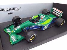 1:18 Minichamps 1991 Jordan Ford 191 7 Up Belgian GP M. Schumacher 100910032