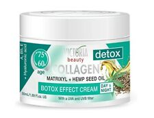 VB Detox Day & Night Anti-Aging Face Cream Collagen Matrixyl Hemp Oil 60+