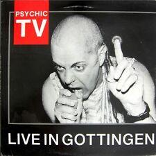 Psychic Tv Live In Gottingen Uk Lp Limited Edition