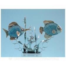 Metal Fish Tea Light Ornament - Fish with candles - Sealife Decoration