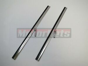 """Pair Windshield Wiper Blade 10"""" Replacement Middle HotRodStreet Jeep Boat Marine"""