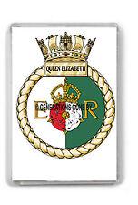HMS QUEEN ELIZABETH FRIDGE MAGNET