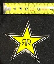 "Rockstar Energy Drink 4"" Logo Sticker Star Decal BMX Car Truck Window Moto Phone"