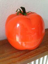 superbe  BAC à Glaçons  tomate orange   Seau à glace an 70's