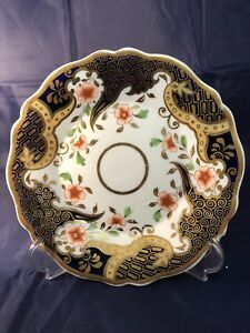 BELIEVED TO BE J&W RIDGWAY ANTIQUE ENGLISH AMARI FOOTED CAKE PLATE C.1820  1015