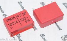 2pcs - WIMA MKS4 4.7uF (4.7µF 4,7uF) 100V 5% pich:22.5mm Capacitor