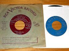 LOT of 5 POP 45 RPMs - DINAH SHORE - RCA LABEL - 3 PROMOS