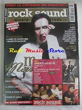 rivista ROCK SOUND 61/2003 +CD American HI-FI +POSTER Marilyn Manson Blur Serart
