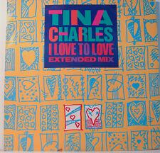 """TINA CHARLES - AMO TO LOVE - DECK 126 - 12"""" LP (K143)"""