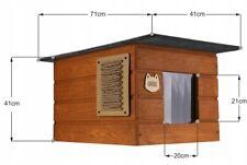 Katzenhaus Outdoor  Katzenhöhle Katze Hund  wetterfest Winterhaus +  Namen
