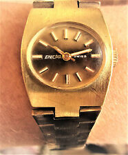 Ladies 1970s GP Enicar Bracelet 17 Jewels Watch for Sale Working Well
