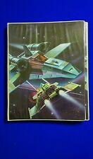 Vintage 1970s Mead the Organizer binder Space art, battle star, star wars