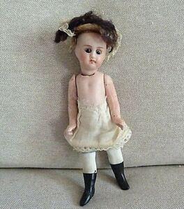 N°83/ Petite poupée ancienne, mignonette porcelaine Jules Verlingue
