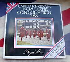 More details for 1983 coin set united kingdom royal mint brilliant uncirculated free uk p&p