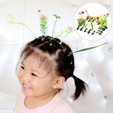 5PC Hot Super Kawaii Cute Grass Flower Leaf Headwear Hair Accessories Hair Clips
