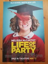 """Melissa McCarthy / Life of the Party (2018) Movie Poster 