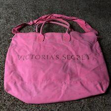 """Victorias secret duffle bag zipper canvas gym spellout 18"""" X 22"""""""
