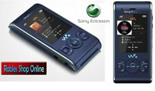 Sony Ericsson w595 Blue Walkman (Sans Simlock) 3 G 3,2mp mp3 radio videocall Top