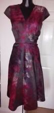Jacquard Dresses Skater with Fit & Flare