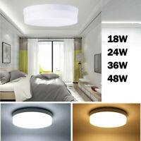48W 36W 24W 18W LED Ceiling Light Ultra Thin Flush Mount Kitchen Home Fixtures