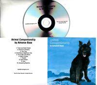 ADVANCE BASE Animal Companionship 2018 UK 10-trk promo test CD
