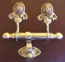 BEAVER Bronze DUET Door Knocker