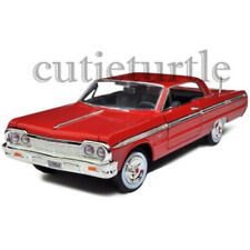 Motormax 1964 Chevrolet Impala 1:24 Diecast Model Car 74259D Red