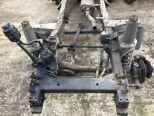 Land Rover defender 90 td5 2003 county csw chassis rebuild project