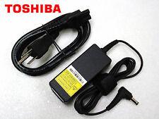 New Original OEM TOSHIBA 45W AC Adapter PA5044U-1ACA PA3822U-1ACA PA5177E-1AC3