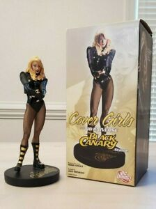 DC Direct Cover Girls Of The DC Universe: Black Canary Statue Adam Hughes