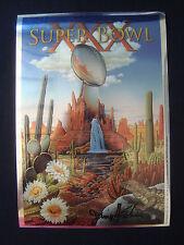 Super Bowl 30 XXX Program Chrome Cover Proof 1 of 5 made Signed