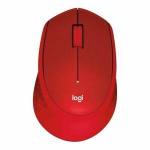 Logitech M330 Silent Plus (910-004911) Red Mouse
