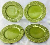 """Set of 4 Lovely Vinatge Varages France Dinner Plates 10.5"""""""