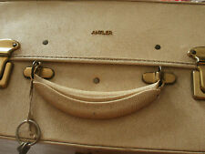 Vintage Antler Leather/Faux Leather? Hanging Suitcase In Cream - Can Deliver