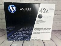 HP 42A LaserJet Black Print Cartridge Q5942A LaserJet  Genuine New Sealed