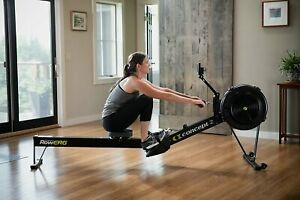 Concept2 Model D with PM5 Performance Monitor Indoor Rower Rowing Machine Black