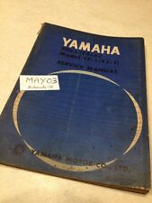 Yamaha 50 YF-1 ( 55 YJ-1 ) service manuel atelier workshop manual