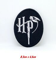 Harry Potter HP Badge Embroidered Iron Sew on Patch #1225