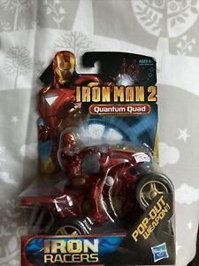 Marvel Iron Man & Quantum Quad Action Figure & Iron Racer New Sealed