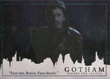 Gotham Season 2 Foil Parallel Base Card #65 ?Face me, Bruce. Face death.?