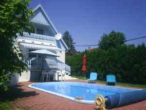 Gepflegtes Haus mit Pool in Balatongyörök, 200 m vom Balaton, Top Lage!