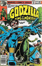 Godzilla King of the Monsters Comic Book #17, Marvel Comics, 1978 VFN/NEAR MINT