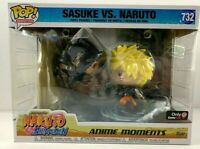 POP! Moments: Naruto Shippuden Naruto Vs Sasuke Gamestop Exclusive! Ships w/Care