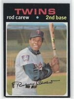"1971 TOPPS ROD CAREW #210 MINNESOTA TWINS ""LOW GRADE"" CORNERS SEE DISCRIPTION"